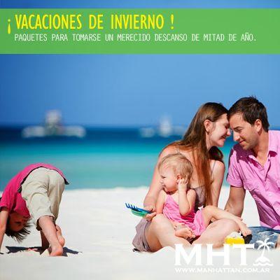 #Vacaciones de Invierno, tomarse un descancito a mitad de año, reserva ya tu lugar con estas ofertas!