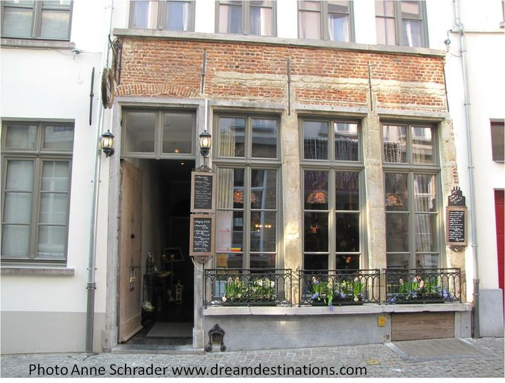 The Belgium Waffle shop we stopped at during the Culinary Delights tour, Antwerp Belgium