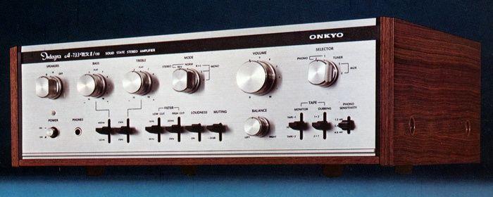 ONKYO Integra A-733mkII/120  1974