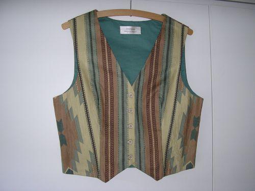 Aztec Stripe Ladies Waistcoat 10-12 from Jacaranda This stunning