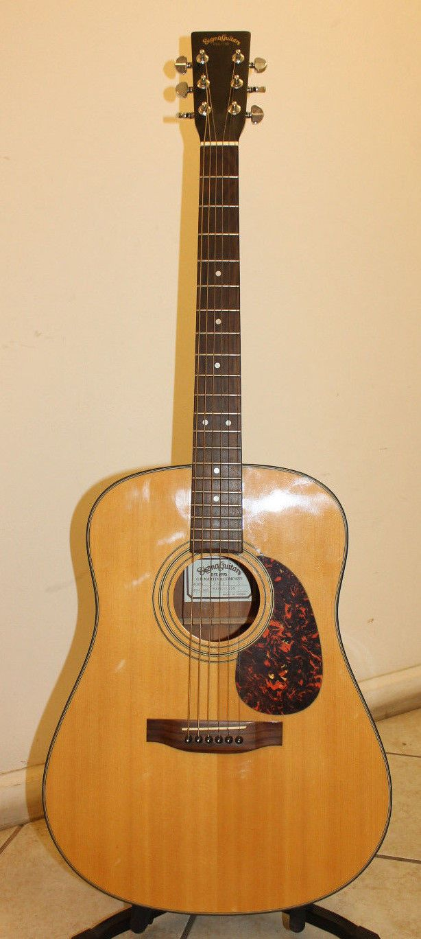 Sigma Dm 2 Acoustic Guitar By C F Martin Made In Korea Acoustic Guitar