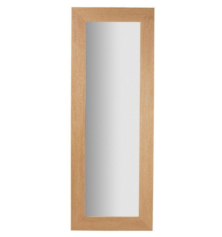 Espejo marco madera espejo de pared marco de madera foto for Espejo rectangular