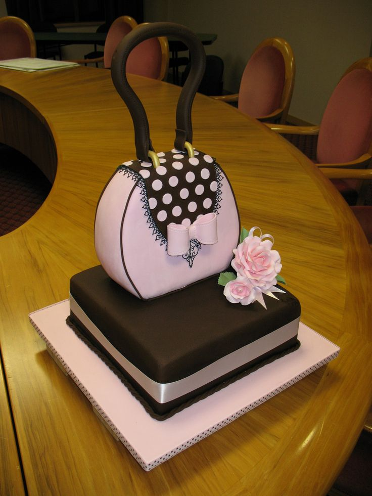Handbag cake! | Flickr - Photo Sharing!                                                                                                                                                                                 More