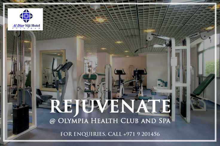 Say 'hello' to a new & fitter you, when you indulge in a full fledged work out at Olympia Health Club and Spa. #AlDiar #SijiHotel #StayFit