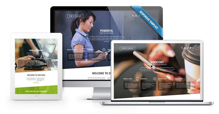 Need a #responsive #business #template for your website. Take a look at the Envisage #Joomla #template