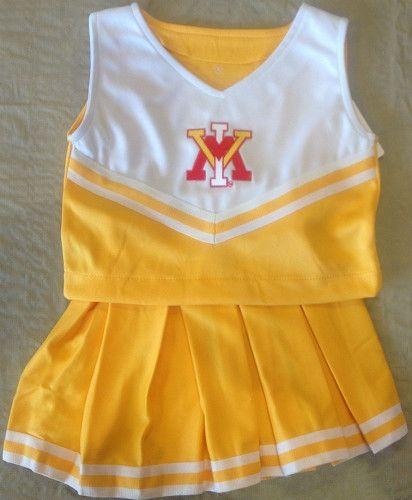 VMI Cheerleader Outfit