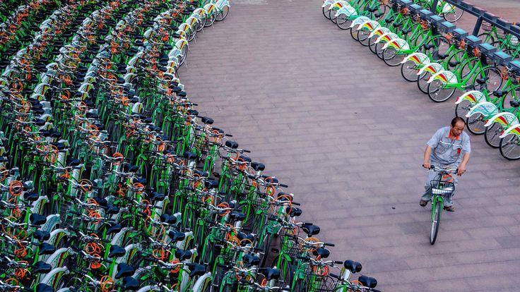 Plus de 23000 vélos de location abandonnés en Chine, un réel problème ! - Vélo ville & vélo urbain sur Le Vélo Urbain.com