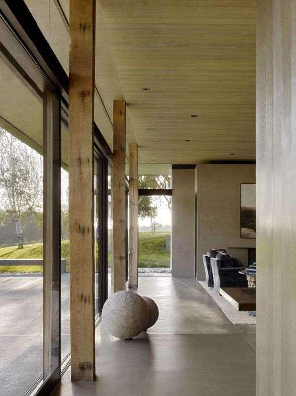 San Joaquin Valley Residence by Aidlin Darling Design , via Behance