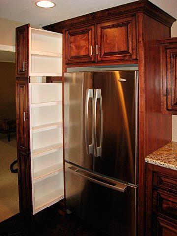 Best 25 Refrigerator Cabinet Ideas On Pinterest Spice