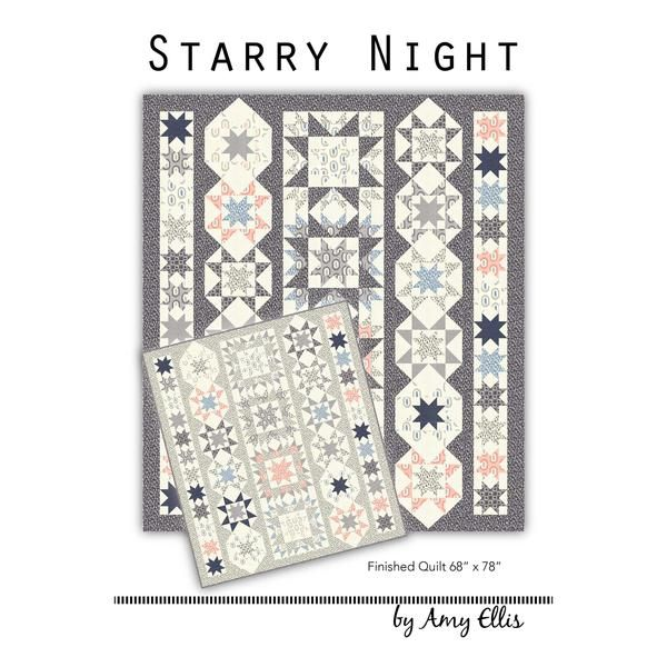 Starry Night reminds me of the most peaceful time of day, when the stars are…
