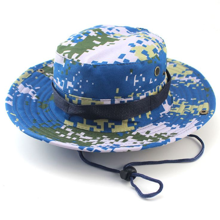 Features: Head Circumference: About 57-58cm Brim: About 6.5cm Diameter: 17.5cm-20cm Hat Depth: 8.5cm Rope Length: About 60cm Weight: About 75g This is a kind of unisex boonie. Perfect for various outd