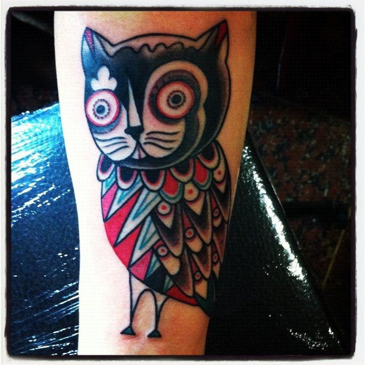 tattoo by Amanda Toy (Milan, Italy)