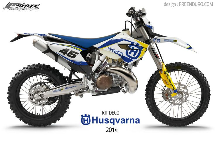 New Graphic kit Husqvarna enduro 2014 ` http://www.eight-racing.com/fr/kits-deco-enduro/1295-kit-deco-husqvarna-2014.html