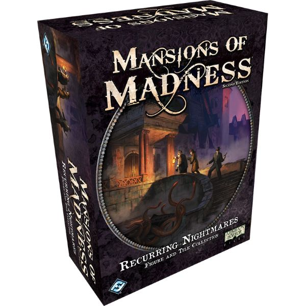 Mansions of Madness 2nd Edition: Recurring Nightmares [Board Game, 1-5 Players]
