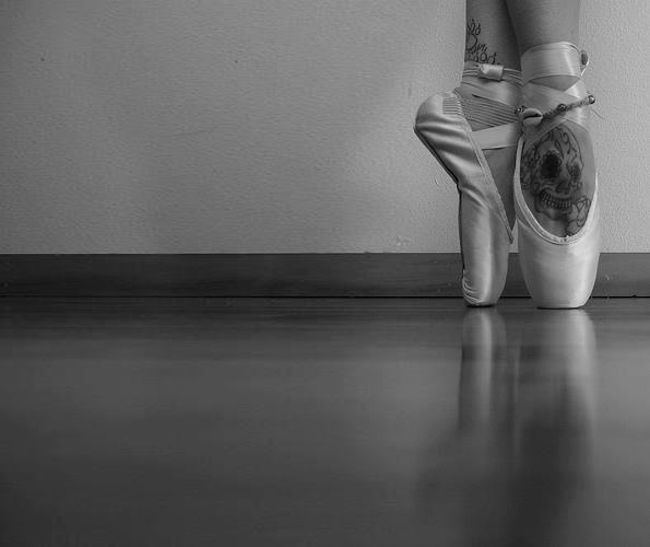 ballet dancer feet tattoo love ballet still in my heart