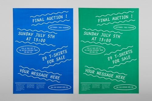 Your Message Here Auction