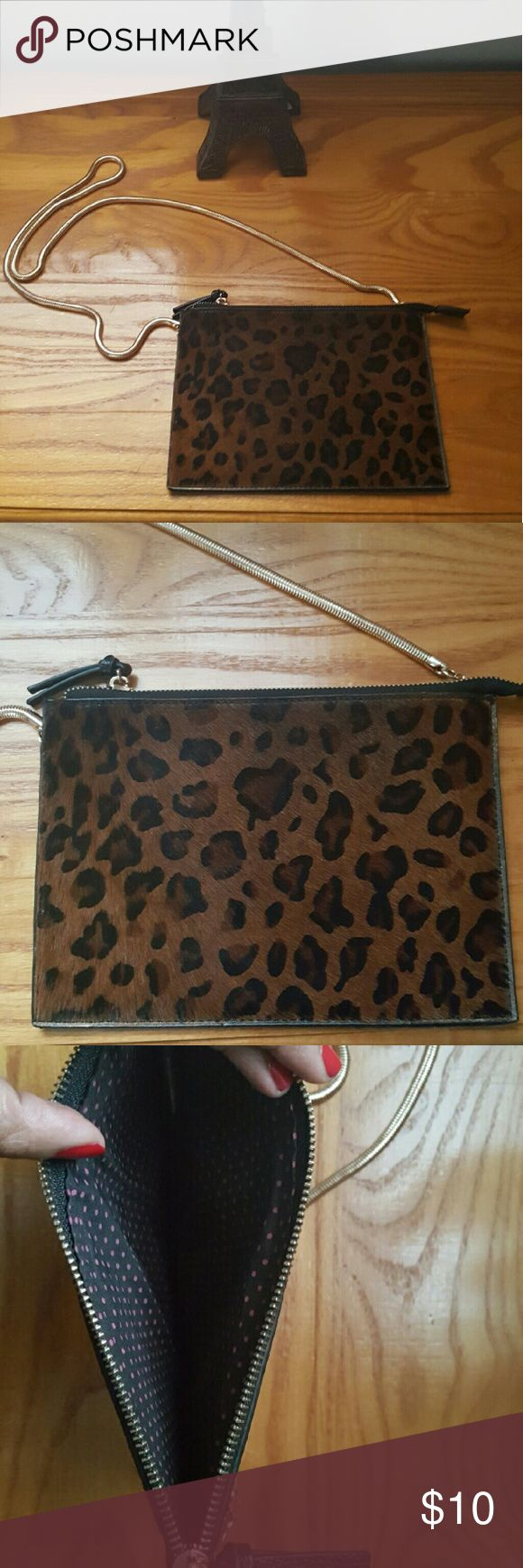 Animal print shoulder bag Lightly used animal print purse no signs of wear it's in great condition Bags Shoulder Bags