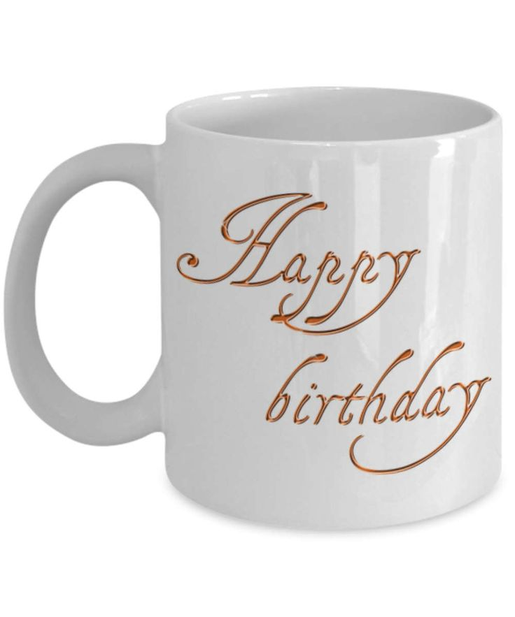 Happy Birthday Coffee Mug, Happy Birthday Mug, Happy Birthday Cup, A Great Gift for a Family Member, Friend, Co-Worker. A Great Travel Mug by BearHugBoutique on Etsy