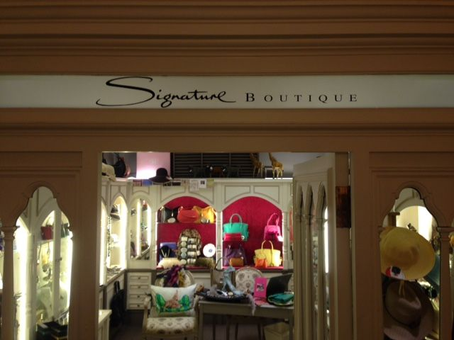 Whether looking for a memento of your travels or the perfect present, the Signature Boutique has just what you're looking for.  Traditional artisan skills combined with contemporary design. Exotic. Urban. Design.  Monday – Friday: 9am – 8pm  Saturday, Sunday and Public Holidays: 10am – 6pm  Belmond Mount Nelson Hotel 76 Orange Street, Cape Town, 8001 South Africa Tel: +27 21 483 1000
