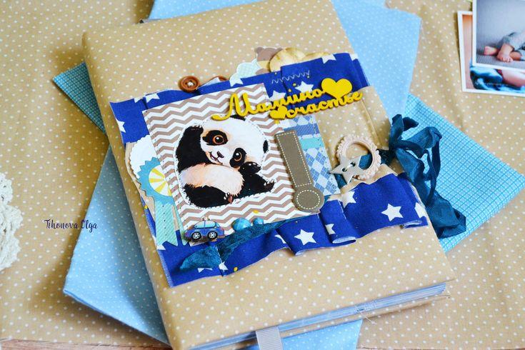 Купить Мамин блокнот, беби бук, дневник молодой мамы, подарок новорожденному…