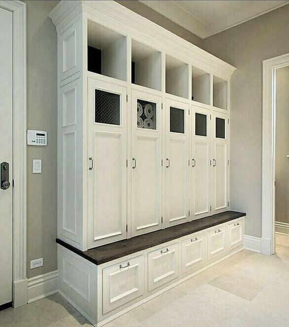 The Georgia Mudroom Lockers Bench Storage Furniture Cubbies Coat