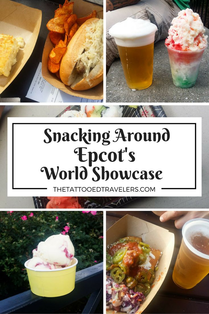 Snacking Around Epcot's World Showcase