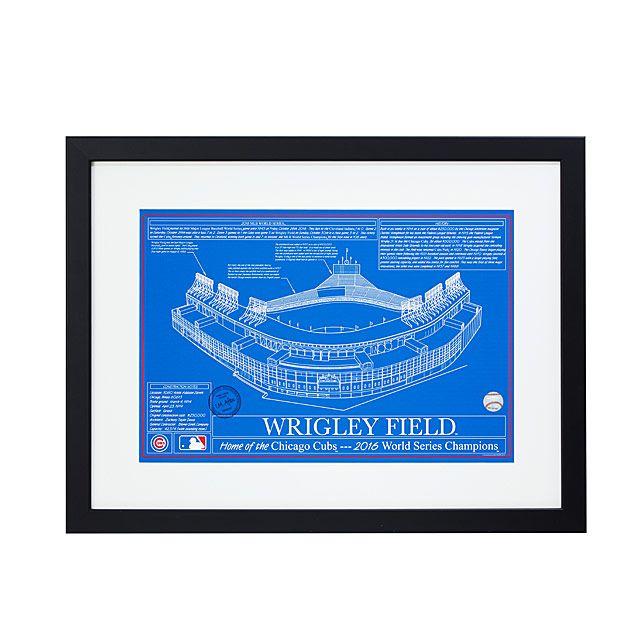 Baseball Stadium Blueprints - Team Colors