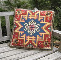 DOM for September 2014 Pattern KILIM from the cross-pointTM kit collection