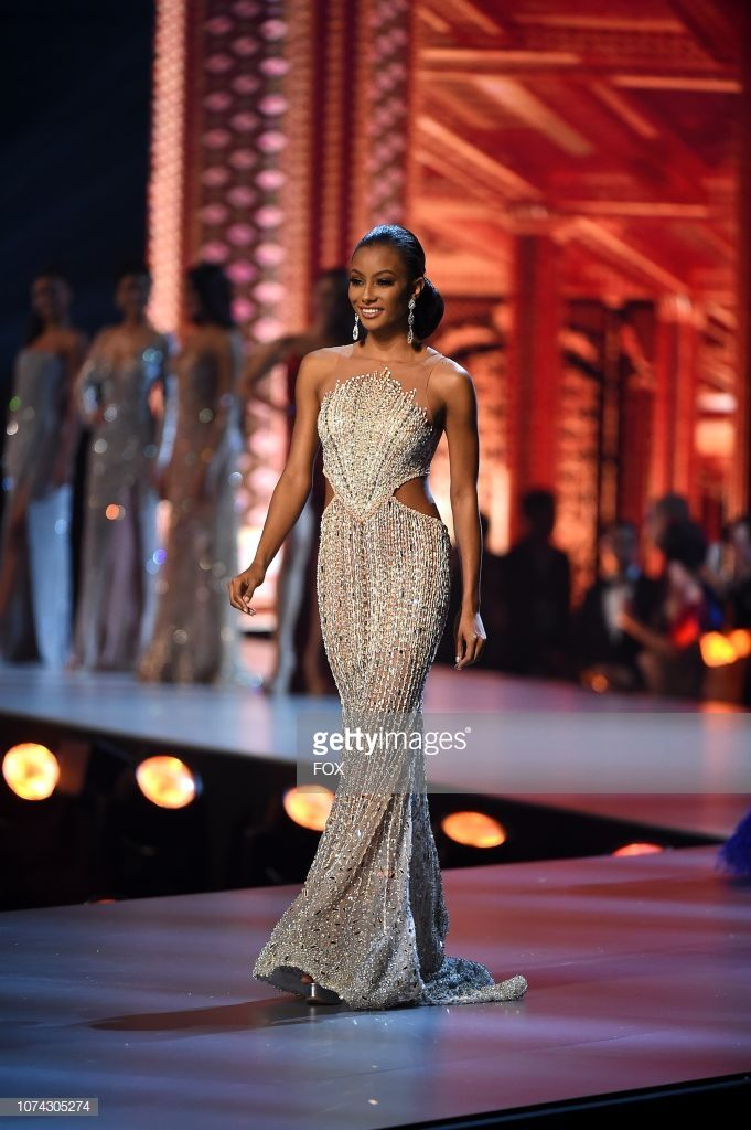Miss Curacao Akisha Albert during the 2018 MISS UNIVERSE competition