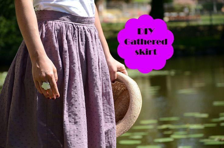 DIY Jupe Froncée – Le Fil à Coudre d'Anna