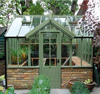 small in house greenhouse | our exciting new 'Croft' greenhouse range; the smallest greenhouse ...