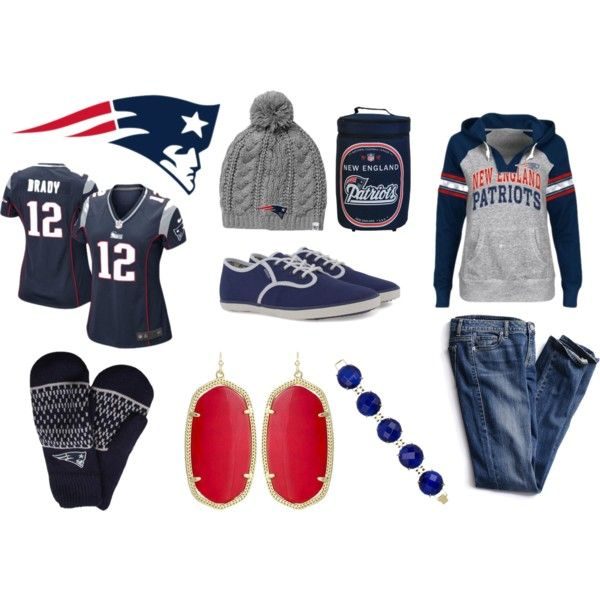 New England Patriots Fans Game Day Style #football #kendrascott