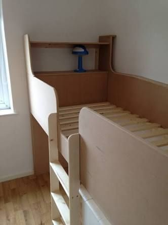 Image result for stair bulkhead in bedroom