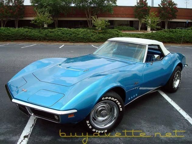 1969 Corvette... I love these so much!