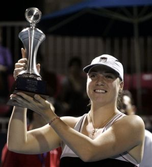 11/15/15 Via http://www.tennisworldusa.org: Former World #20 Alisa Kleybanova won the 1st tournament she entered after a 17 month lay-off due to a shoulder injury. The Russian def, top seed Lina Gjorcheska 6-3, 6-4 to win the ITF title in Antlaya, Turkey. Diagnosed with Hodgkins Lymphoma, May 2011, she returned 10 months later at Indian Wells but was forced to take another 14 month break ..played more than a dozen events until Wimbledon in 2014 before the latest injury setback.