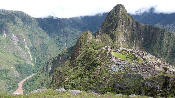 Ruinas del Machu Picchu y Río Urubamba (Perú)