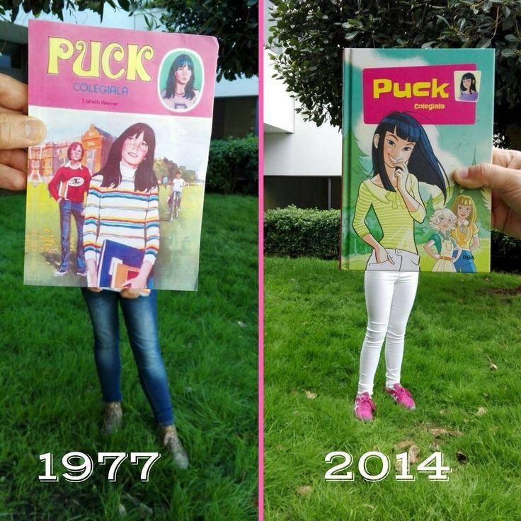 "#Petitsllibres ""I aquí tenim el nostre bookfacefriday amb el llibre ""Puck colegiala"" de Lisbeth Werner!"" #puck #juvenil #retro #libro #biblo #lectura"