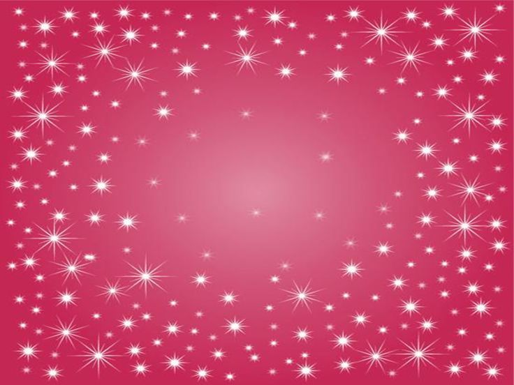 glitter animated star background | Free Powerpoint Template Deep Pink Sparkle Background