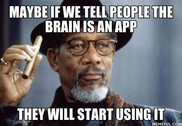 No. They'd expect someone else to download the app for them.