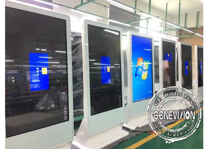 65inch Touch Computer Kiosk Wifi Digital Signage Floor