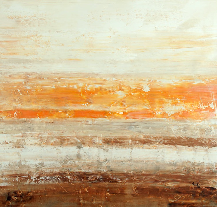 """Lisa Carney - """"Sahara Taupe"""" 34"""" x 36"""" For lease or purchase. www.artli.ca Lease for $100 per month"""