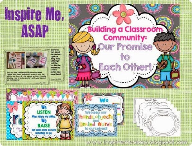 Classroom Promise - Creating a Welcoming Classroom Climate - Inspire Me ASAP