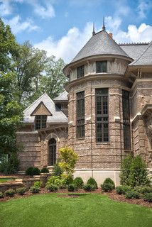 Exterior, Private Residence at The Ledges - traditional - exterior - birmingham - by Matheny Goldmon Architects