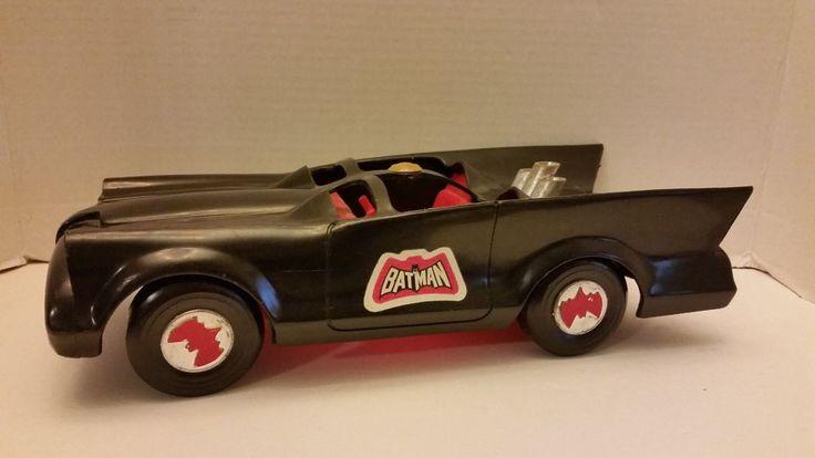 Vintage Collectible 1974 Mego Corp Batman Batmobile Toy Vehicle  #Mego