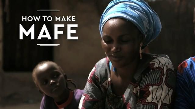Oxfam Intermon: How to make Mafe
