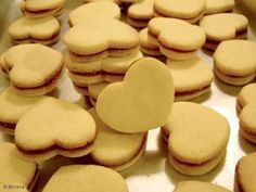 Aprenda a preparar a receita de Biscoito casadinho