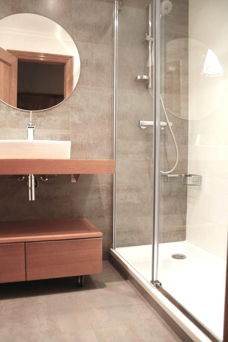 Ideas de ba o estilo contemporaneo color marron - Lamparas para espejos de bano ...