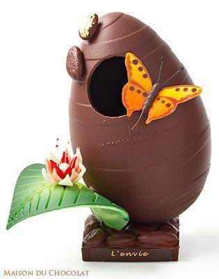 Maison du Chocolat, création pour Pâques 2009
