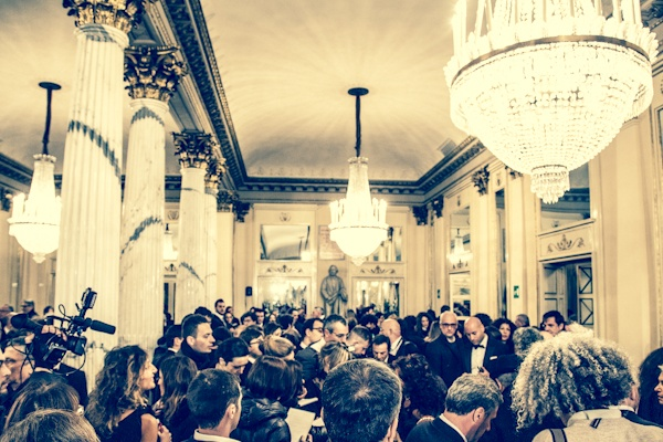 Opening Night 2012/2013 Season - Lohengrin - Entracte - the crowded Foyer