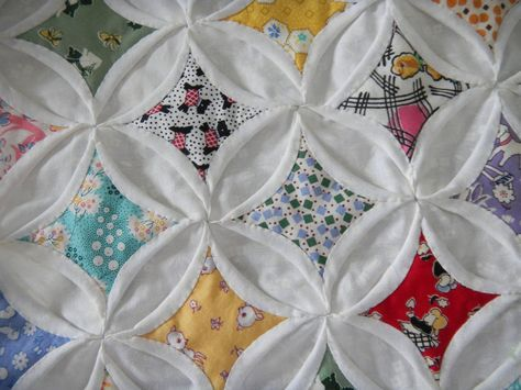 How To Make An Easy Cathedral Window Quilt Cathedral